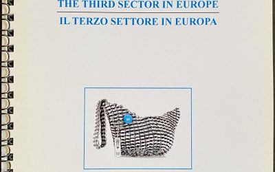 The Third Sector in Europe—Il Terzo Settore in Europa