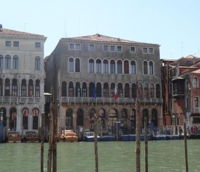 "A boatman cried out to us, ""The Rialto!"""